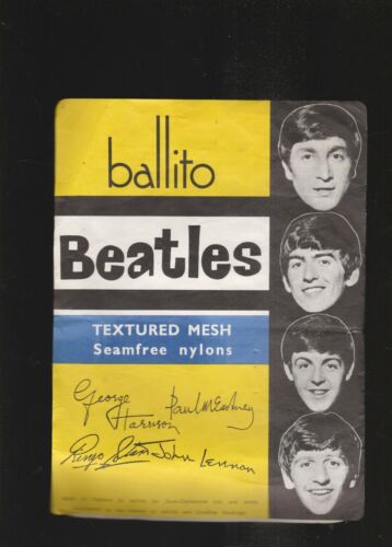 THE BEATLES 1964 BALLITO NYLONS PACKAGE