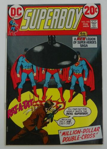 Superboy #193 1973 F+ Fine+