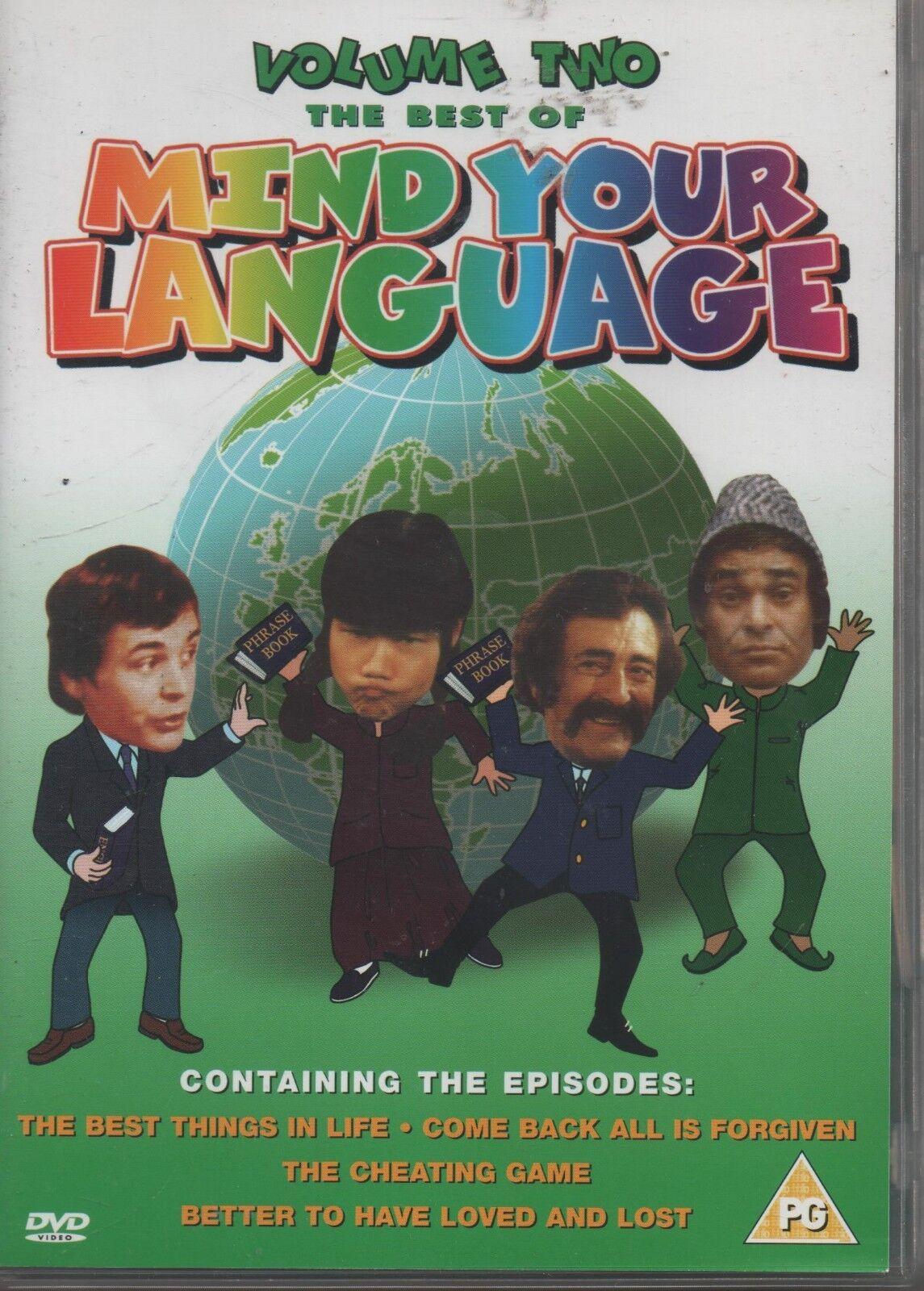 The Best Of Mind Your Language vol 2[Dvd] the best timing In Life,Cheating Game