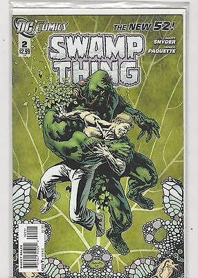 Swamp Thing #2 New 52 vol 5 DC Comics 2011 VF/NM
