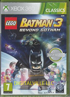 Lego Batman 3 Beyond Gotham Xbox 360 Brand New Factory Sealed PlaySation 4
