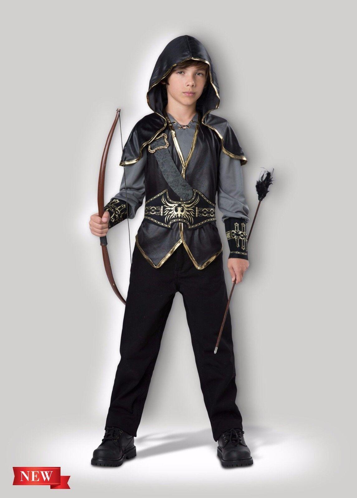 Incharacter Hooded Huntsman Bowman Hunter Child Boys Halloween Costume 17108