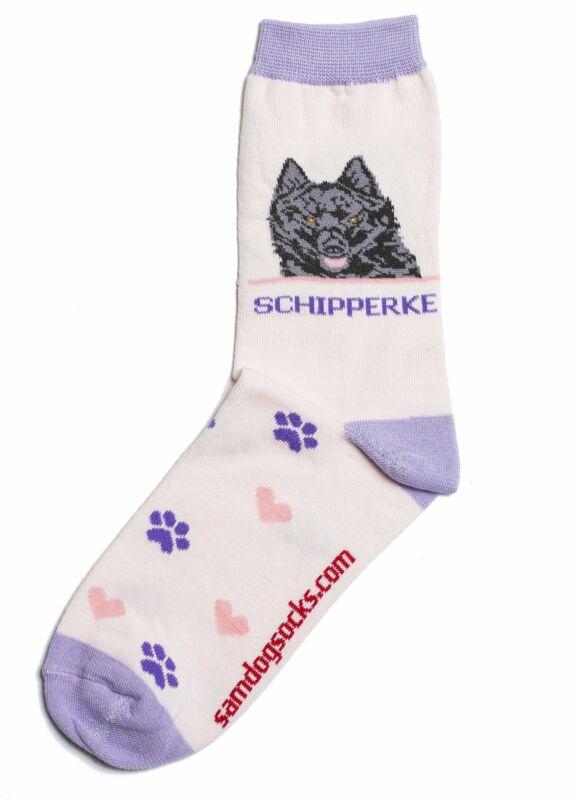 Schipperke Dog Socks