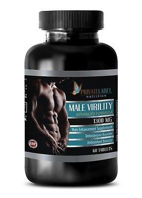 (Pills for men 100mg - MALE VIRILITY COMPLEX - muira puama root powder - 1 Bottle)