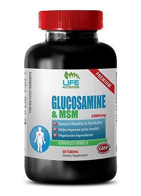 Chondroitin Powder - Glucosamine Chondroitin MSM 3230mg - Anti-Inflammatory 1B  Glucosamine Chondroitin Powder