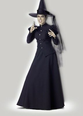 Incharacter Evil Böse Hexe Deluxe Erwachsene Damen Halloween Kostüm - Deluxe Böse Hexe Kostüm