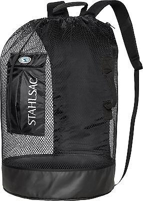 - Stahlsac Bonaire Scuba Diving Travel Mesh Backpack Gear Bag Black NEW