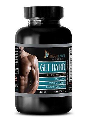 (male ed pills - GET HARD PILLS - muira puama root - maca - sexpill - 1 Bottle)