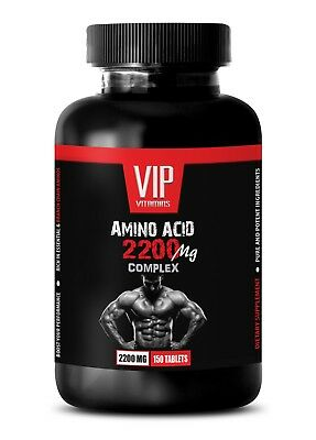 best muscle building supplements - AMINO ACID 2200MG 1B - amino
