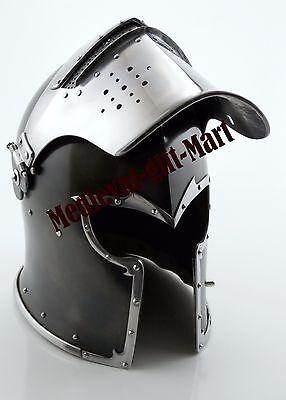 MEDIEVAL SUGARLOAF CRUSADER HELMET - KNIGHT TEMPLAR SUGAR LOAF ARMOUR HELMET (Knight Helmets)