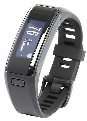 New Garmin VivoSmart HR Fitness Watch Heart Rate Steps Sleep Monitor Regular Fit