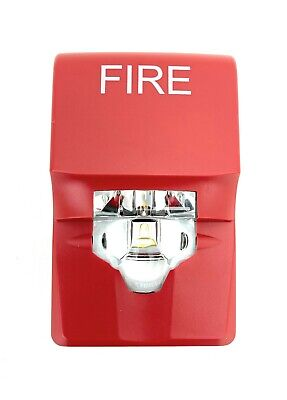 Edwards G1vrf Red Compact Wall Strobe 15-75cd Fire Marking