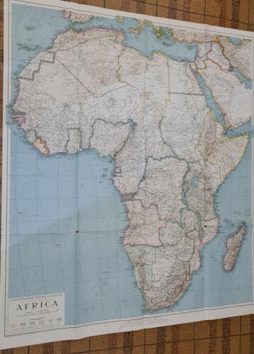 VINTAGE ITALIA  MAP   AFRICA   EDITION 1941