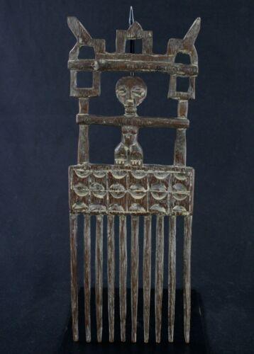 Art African tribal Ethnic - Large Comb Ashanti - African Comb - 39 CMS