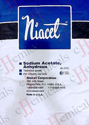 Sodium Acetate Anhydrous Minimum 99.5 Purity 50lb Bag
