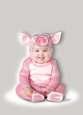 Incharacter This Lil' Piggy Pig Zoo Animal Infant Baby Halloween Costume - Animal Costume Baby