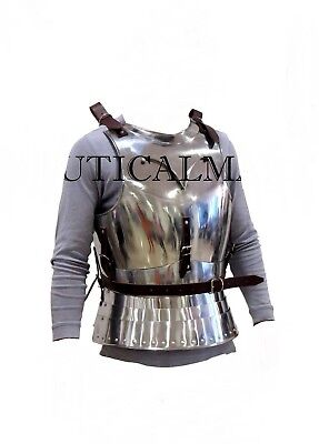 Medieval Armour Breastplate Cuirass Wearable Halloween Armor Costume/exp ship.