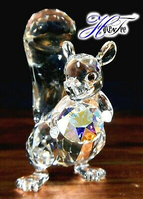 SQUIRREL WINTER SPARKLE CHRISTMAS HOLIDAY ANIMAL 2019 SWAROVSKI CRYSTAL -