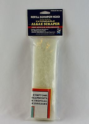 API Algae Scraper Replacement Head/Pad - For Acrylic Aquarium