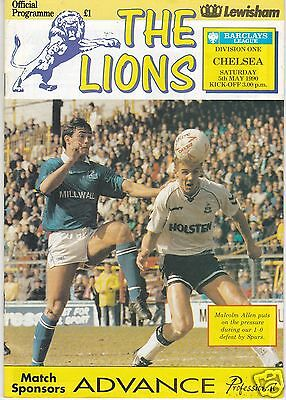 MILLWALL V CHELSEA  DIVISION ONE 5/5/90