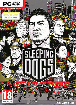 SLEEPING DOGS jeu pour PC SQUARE ENIX DVD ROM ++ 100% NEUF...