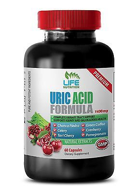 Gout Relief Capsules   Uric Acid Formula 1430Mg   Pomegranate 40  Extract 1B