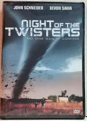 Night of the Twisters (DVD, 2006) FACTORY SEALED / R1 / NTSC