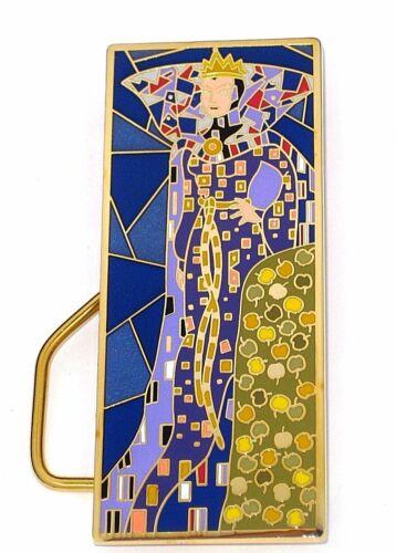 Villain Evil Queen JUMBO LE Disney Pin Poison Apple Art Nouveau Klimt Easel RARE