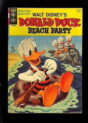 DONALD DUCK BEACH PARTY #1 VERY GOOD CONDITION 1955 GOLD KEY  COMIC KINGS ](Duck Beach)
