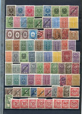 Lot Österreich, **, *, o  -  um 1920 ( 40703 )