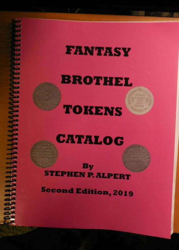 Hot off the Press FANTASY BROTHEL TOKENS CATALOG 2nd EDITION