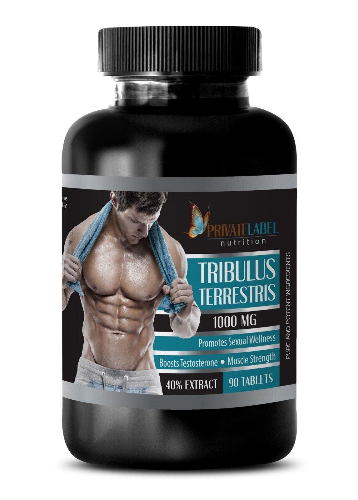 tribulus standard process - TRIBULUS TERRESTRIS 1000mg 90T - Male libido instant