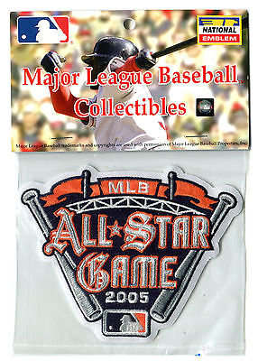 2005 ALL STAR GAME AT DETROIT TIGERS OFFICIAL MLB BASEBALL JERSEY PATCH MINT Game Official Mlb Baseball Jersey