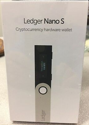 In Stock Usa Sale Ledger Nano S Virtual Currency Bitcoin Hardware Wallet New