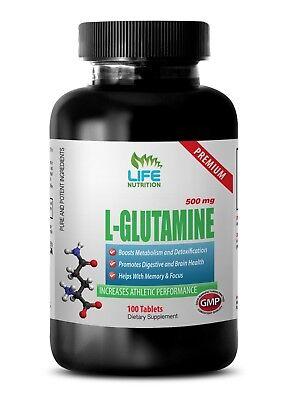 glutamine for brain health - PREMIUM L-GLUTAMINE 500mg 1B - intense exercise segunda mano  Embacar hacia Argentina