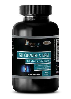 Glucosamine Chondroitin Powder - GLUCOSAMINE & MSM 3200mg - Support Joint Health Glucosamine Chondroitin Powder