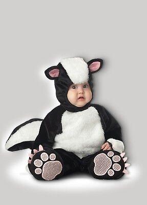 Incharacter Lil Stinker Stinktier Pelzig Tiere Kleinkinder Baby Halloween Kostüm (Baby-Halloween-Kostüm)