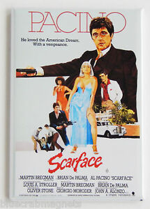 Scarface FRIDGE MAGNET movie poster al pacino