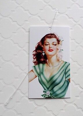 100 Clothing Tags Price Tags Pin Up Girl Boutique Tags W Loops Rebes Creations