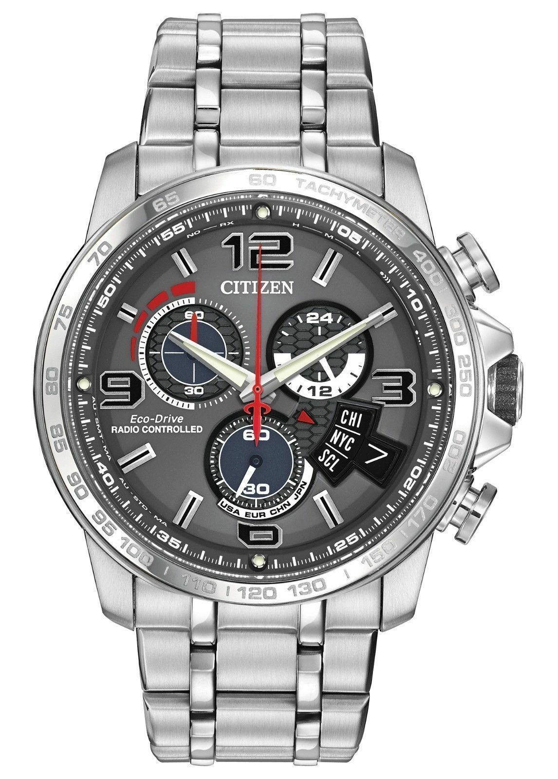 $695.00 - NEW Citizen Eco-Drive BY0100-51H Perpetual Calander Chronograph A-T Watch