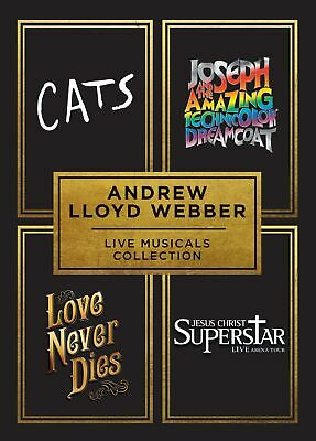 Andrew Lloyd Webber Live Musicals Collection (Box Set) [DVD]