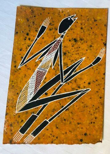 Gershem Gartngarr, MIMI Original Painting Aboriginal Art 20 x 29 cm