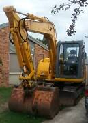 LISHIDE EXCAVATOR-SC70-7 :2007 :7Tonne :45kw :RUNS READY FOR WORK Cranbourne North Casey Area Preview