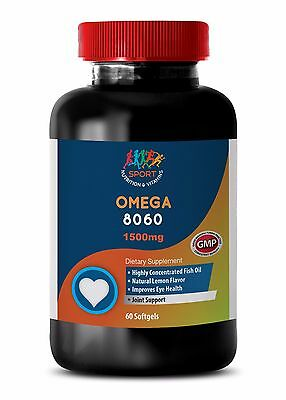 Immune Support Oil Softgels - Omega 8060 3000mg - Improve brain health 1B Immune Support Wellness Oil