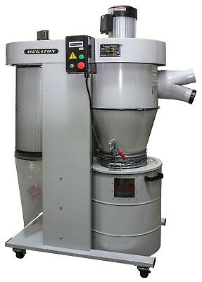 Megaton Ub-2100veck 2 Hp Cyclone Dust Collector