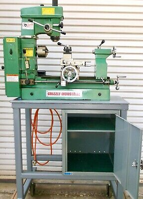 Grizzly Combo Lathemilldrill Press Model G4015 Plus Stand Accessories