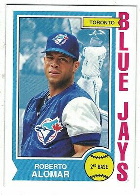 2019 Topps Roberto Alomar Blue Jays Throwback Thursday 1974 Basketball /885 Blue Jays Basketball