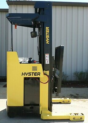 Hyster Model N40xmr3 2002 4000 Lbs Capacity Great Reach Electric Forklift