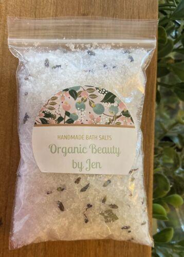Lavender Eucalyptus Bath Salts HANDCRAFTED