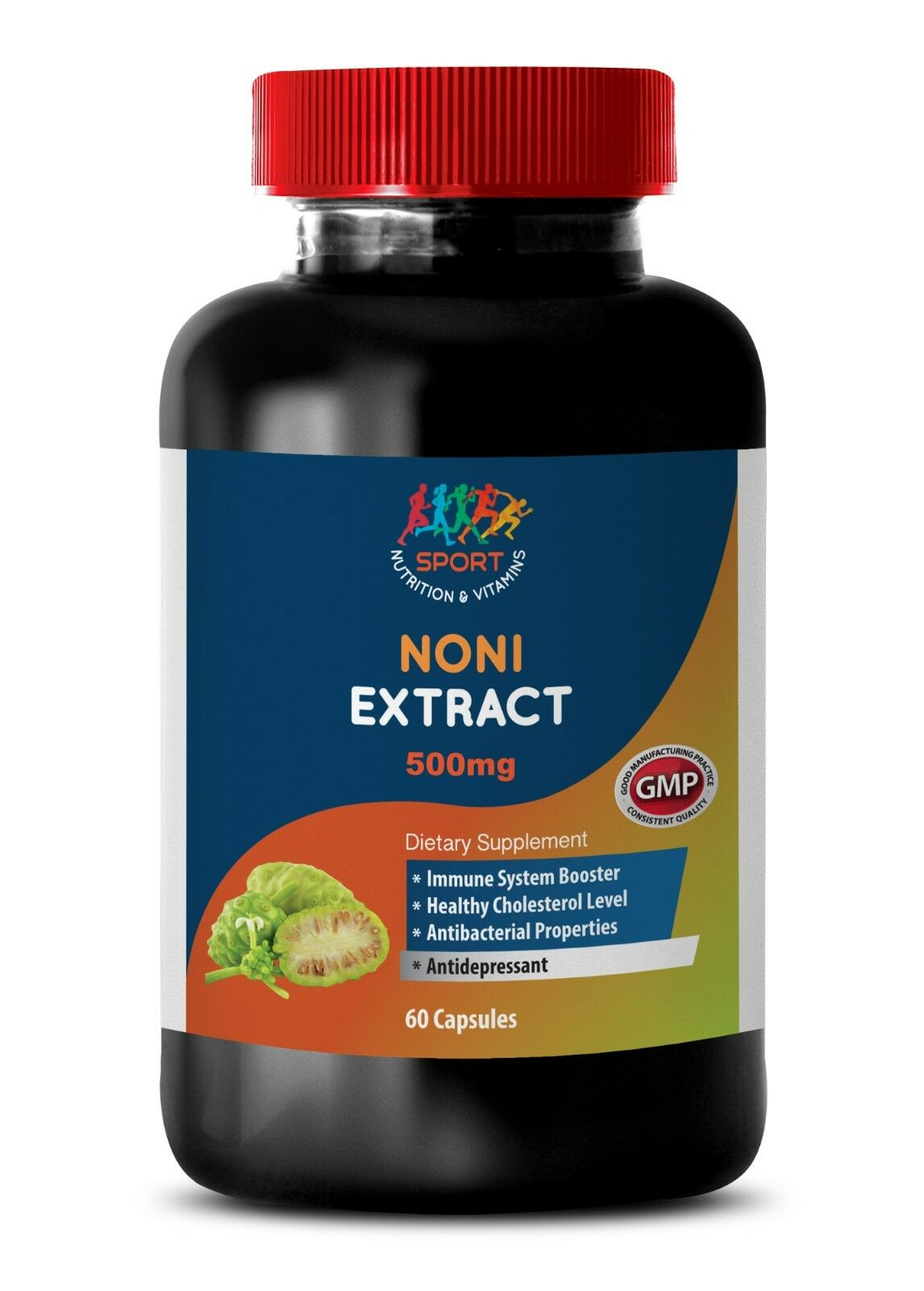 Energy Booster For Men - Noni Extract 500mg 1b - Noni Fruit Extract